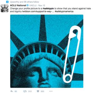 ACLU #SafetyPin