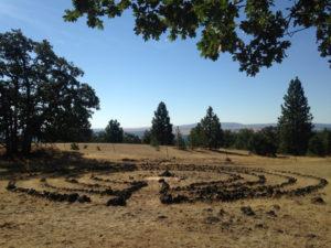 Labyrinth on a Hill